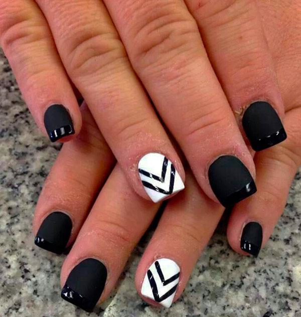 Stylish & White Nail Art Designs