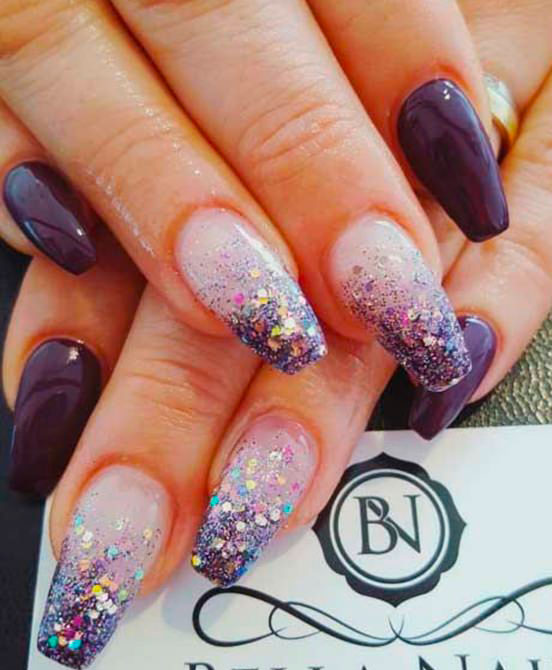 52 + CUTE COFFIN NAILS  SHAPED DESIGNS IDEAS FOR YOUR NEXT