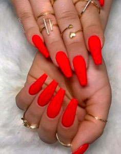 top Creative Red Acrylic Nail Designs to Inspire You