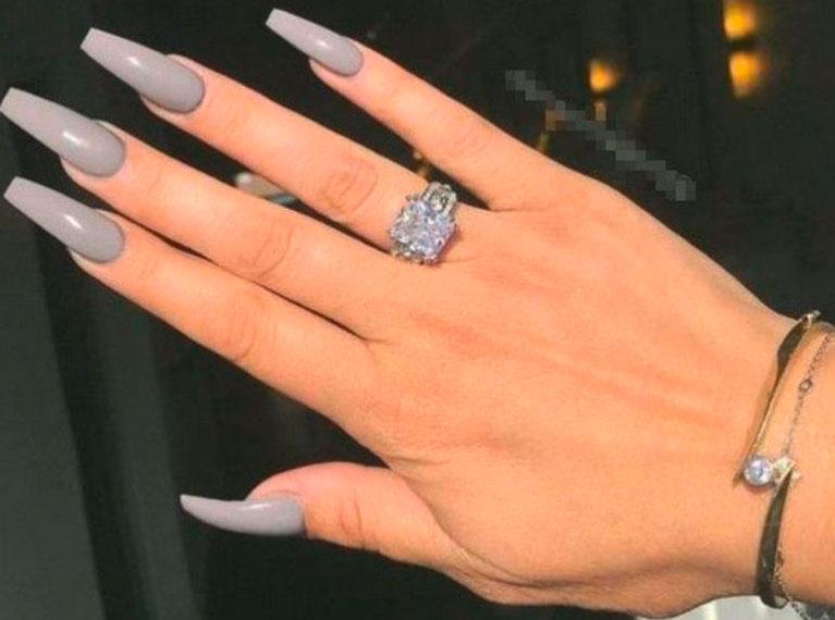 long square nail designs images