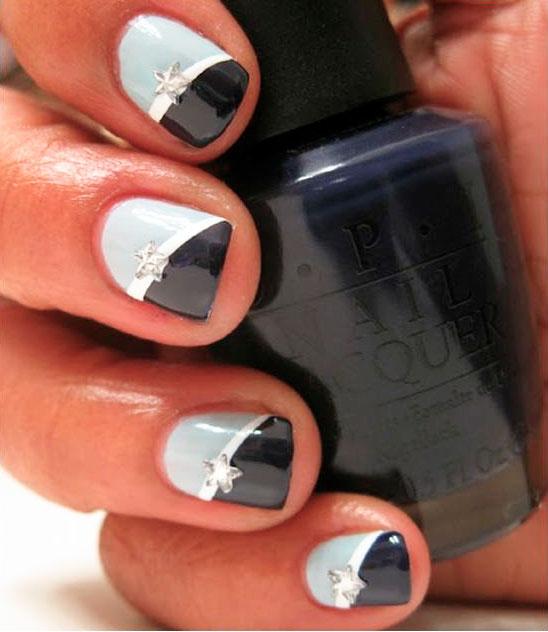 nail polish black skin