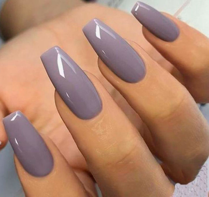 ombre acrylic nails with glitter