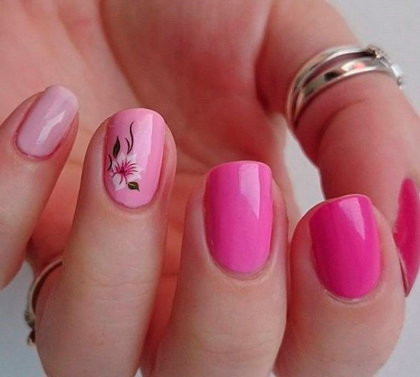 Sweet Pink Nail Design Ideas for a Manicure