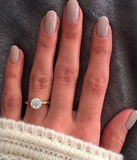 Rounded nails have many benefits
