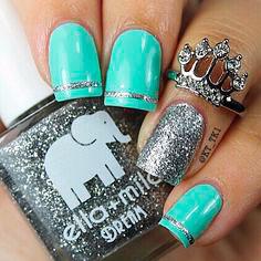 best mint green nail polish