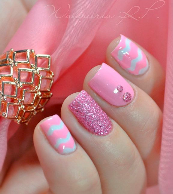 nail art designs can be used in almost all occasions,