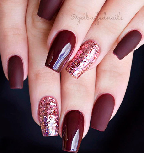 coffin fall nails