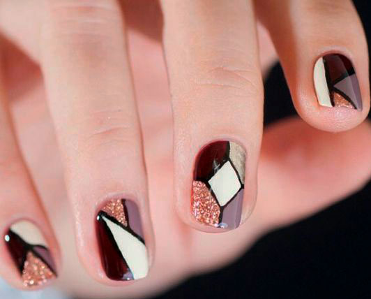 beautiful colours nail shapes
