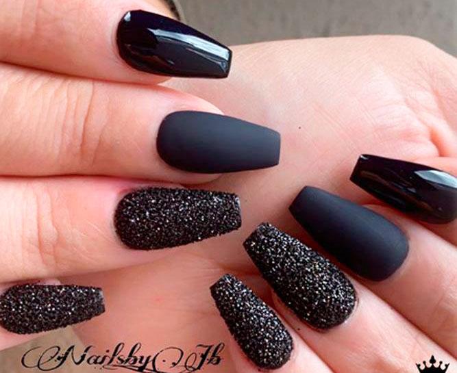 cute long coffin nails