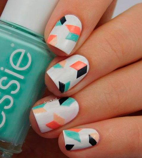 cute fall nails colour design