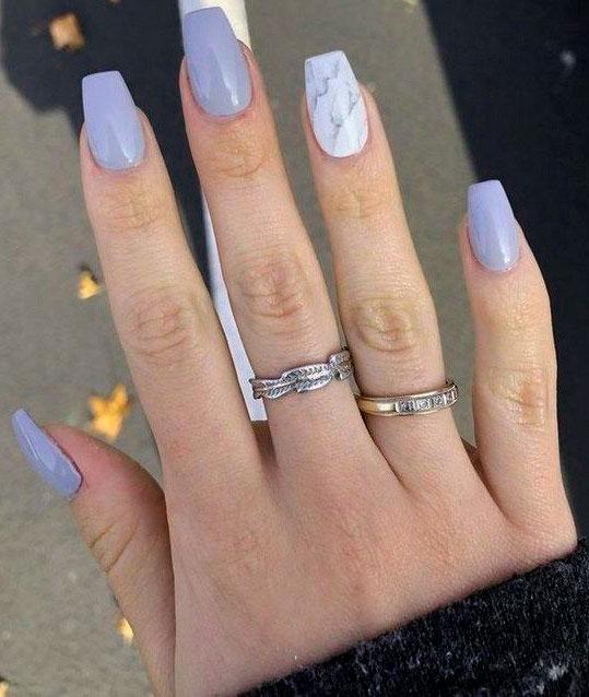 acrylic nail shapes coffin