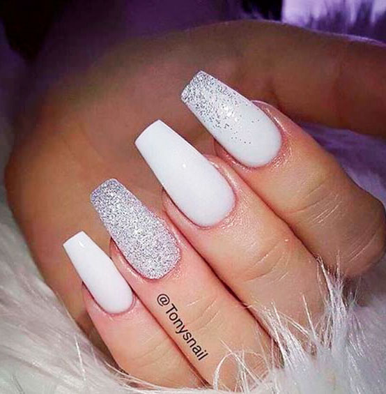 extra long square nails