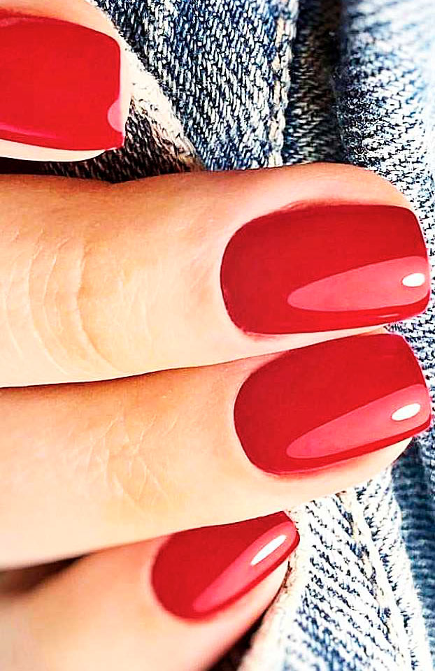 Splendid Red Nail Art Designs to say