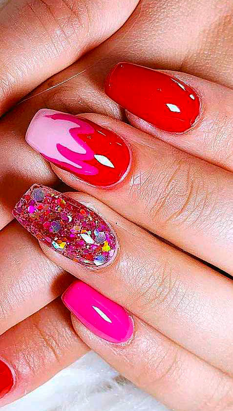 Easy Red Nail Designs - Cute Nail Art Ideas
