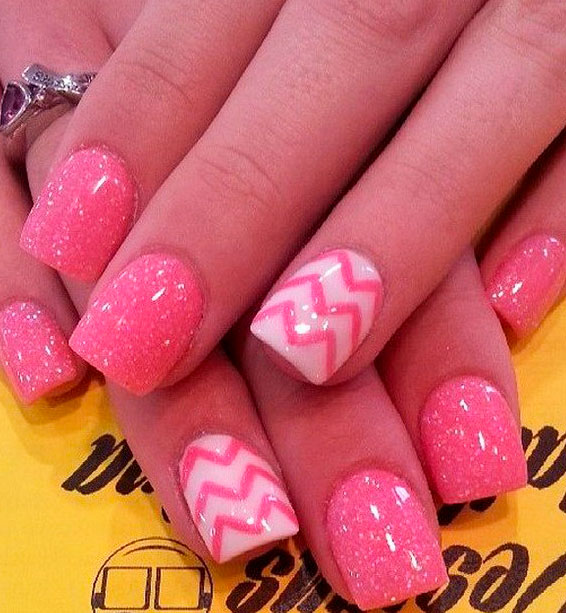 of the Best Pink Nail Art Designs