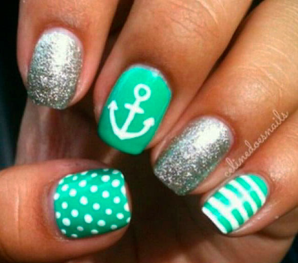 Green nail designs - The Best Images