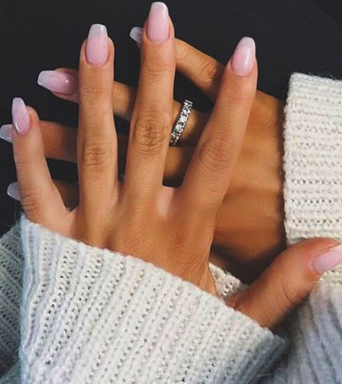 ballerina nails art
