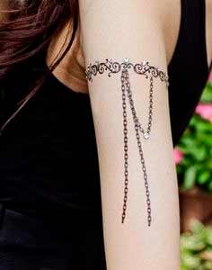 Attractive arm tattoos for Women and girls