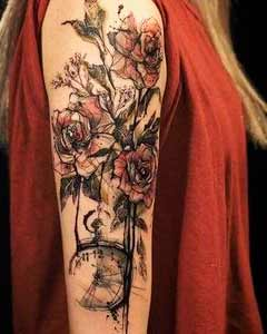 Stunning Arm Tattoos For Women  and girls