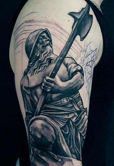 soldier tattoo