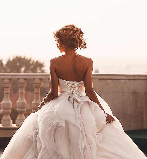 beautiful wedding dress inspiration photo