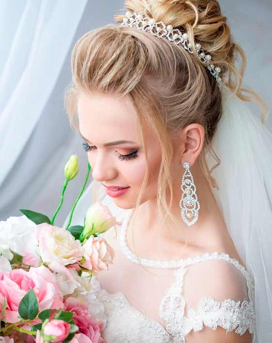 wedding hairstyles princesses
