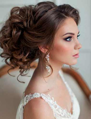 effortless wedding day hair.