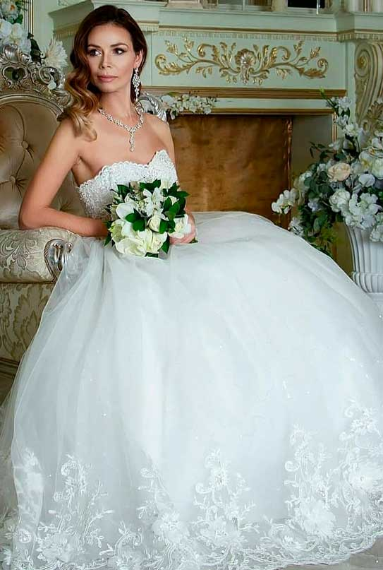wedding dresses simple elegant