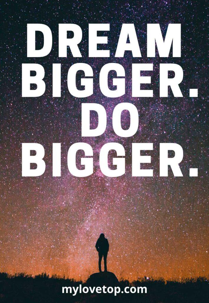 Do bigger