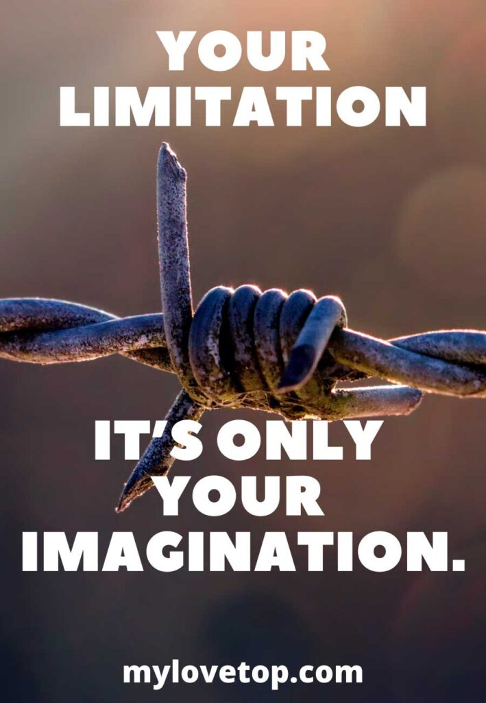 it's only your imagination.