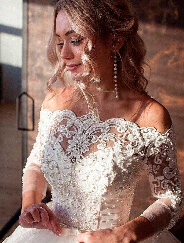 stunning wedding dresses for older brides