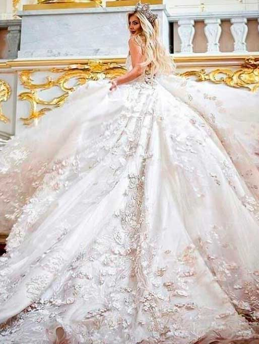 sweetheart mermaid wedding dress for women