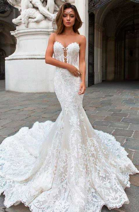 wedding dress ideas for perfect body type