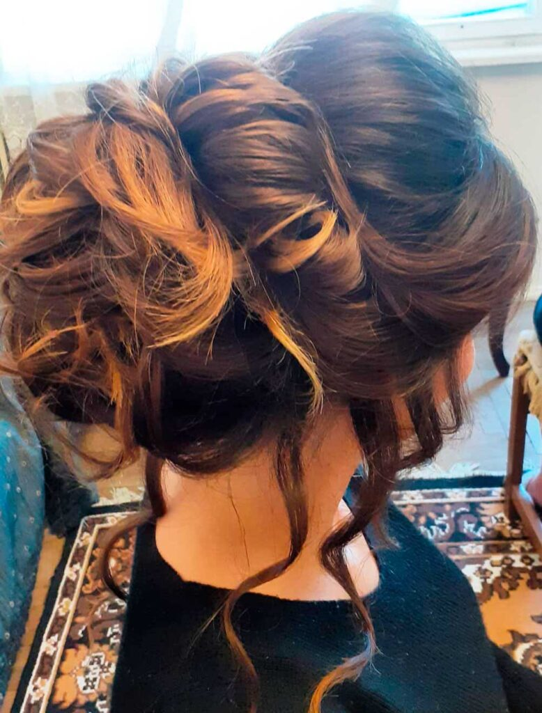 Updo for special occasions