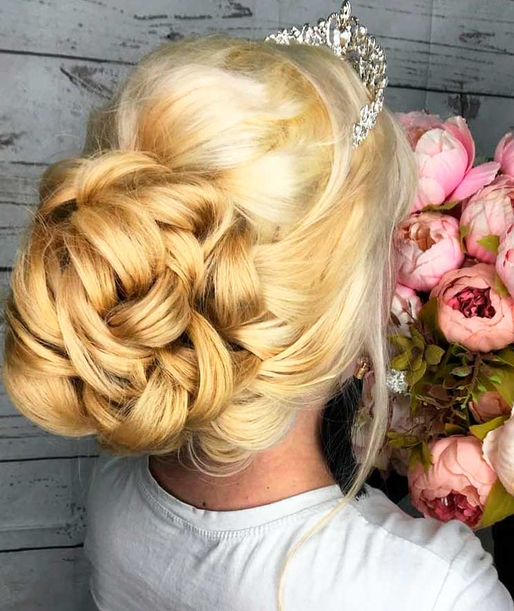 hair for a special occasion like wedding