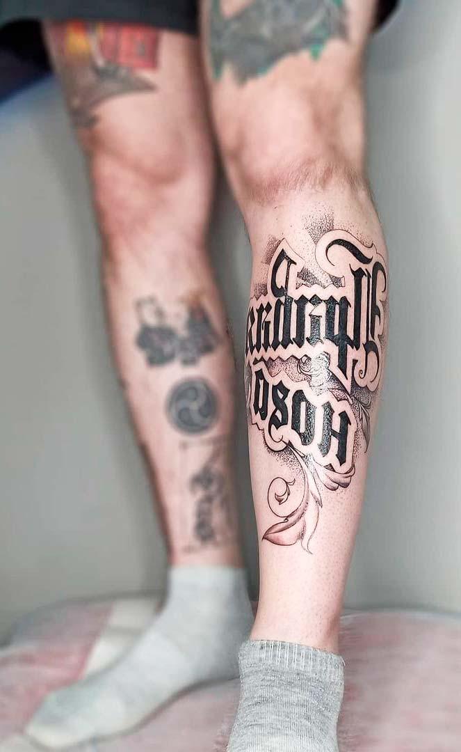 cursive letters tattoo fonts designs