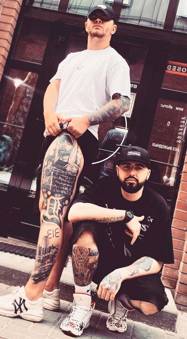 full leg original Tattoo Ideas for Men