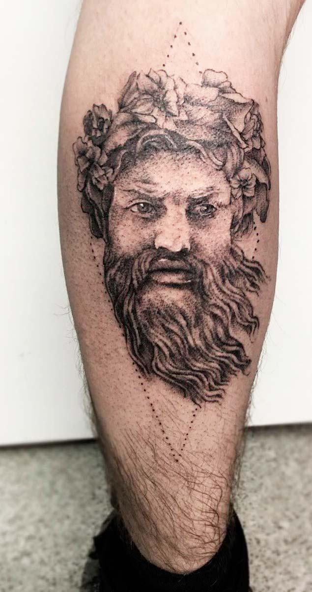 Greek Mythology  Body Painting