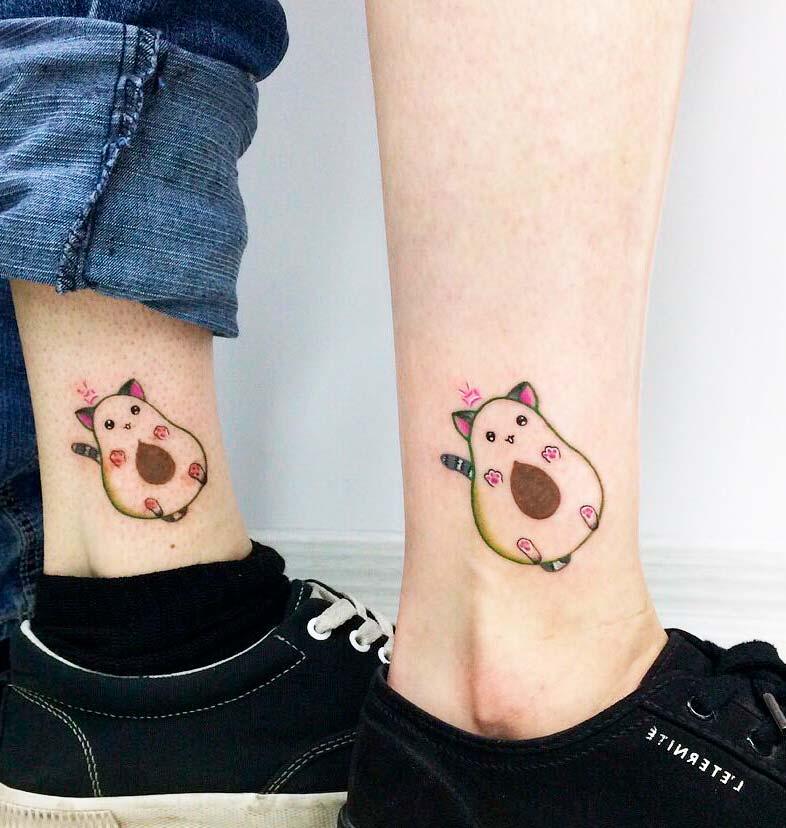 tiny cat tattoo design modern ideas
