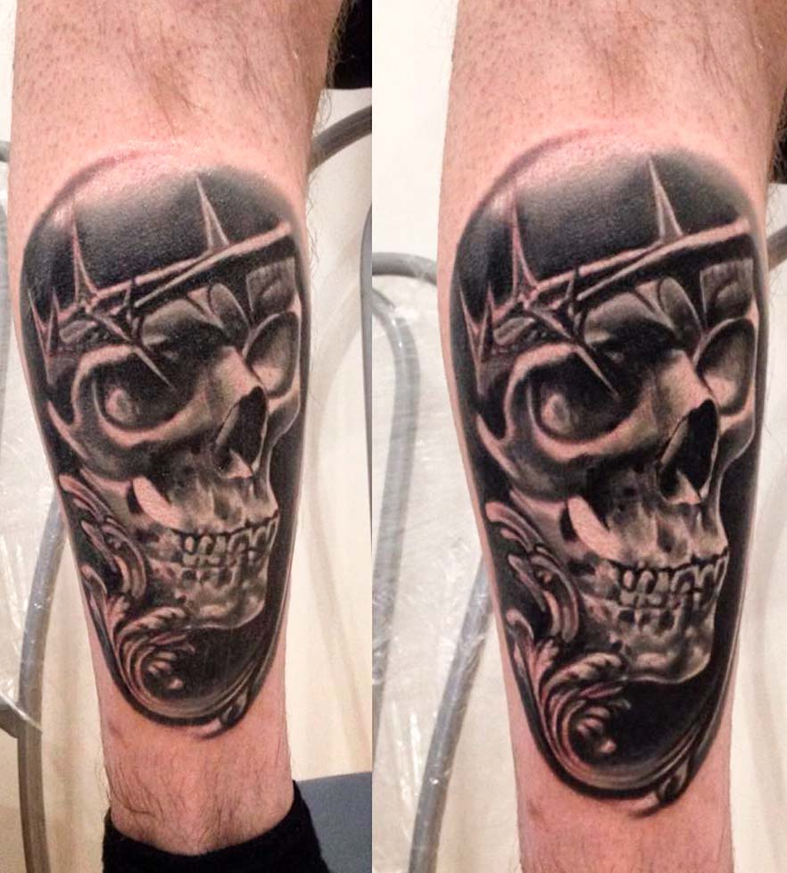 best skull tattoo artist design ideas for men and guys