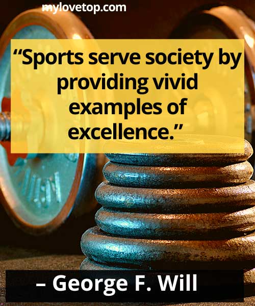 best sports quotes of all time for sport lovers