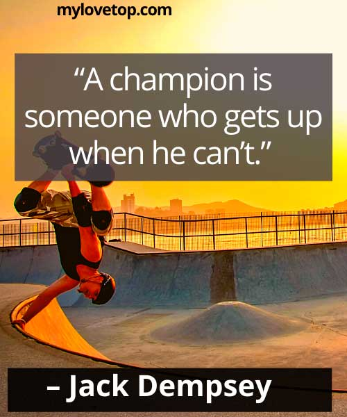 jack dempsey sports quotes about life