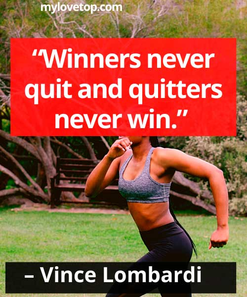 focus quotes sports  Vince Lombardi