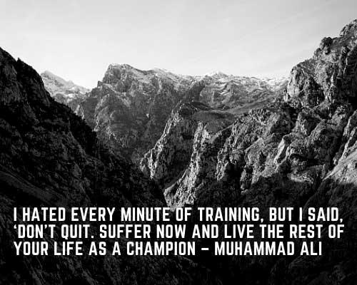 good sports quotes Muhammad Ali
