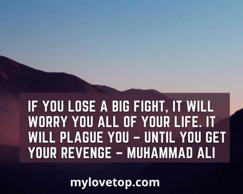 powerlifting quotes motivational saying Muhammad Ali