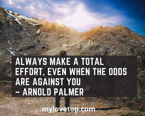 Arnold Palmer golf is a good walk spoiled quote