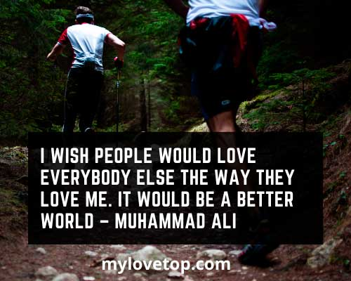 Muhammad Ali perseverance quotes sports about love