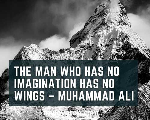 inspiration Muhammad Ali sports sayings