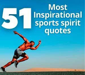 51 sports spirit (quotes) Motivational slogans Inspirational